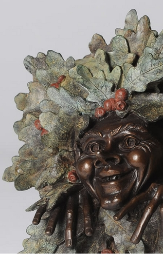 Twigg Hoblin bronze Goblin plaque from Metallic Garden