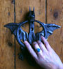 flying dragon door knocker from Metallic Garden
